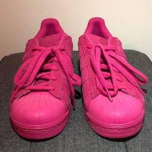 Adidas Classic - Fuschia Suede